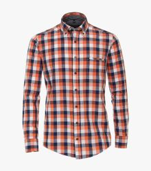 Freizeithemd in Orange Casual Fit - CASAMODA