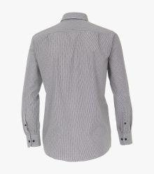 Freizeithemd in graues Mittelblau Comfort Fit - CASAMODA