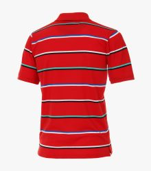 Polo-Shirt in Mittelrot - CASAMODA