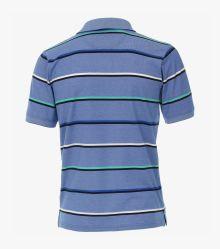 Polo-Shirt in Hellblau - CASAMODA