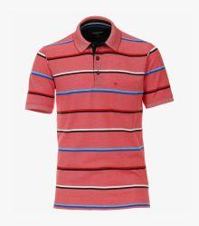 Polo-Shirt in Hellrot - CASAMODA