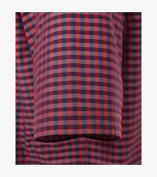 Freizeithemd Kurzarm in Mittelrot Comfort Fit - CASAMODA