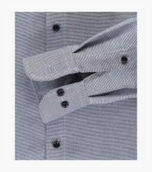 Businesshemd in graues Dunkelblau Comfort Fit - CASAMODA