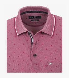 Polo-Shirt in Bordeauxrot - CASAMODA