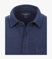 Polo-Shirt in Dunkelblau - CASAMODA