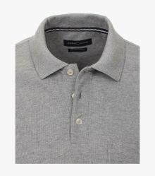 Polo-Shirt in Hellgrau - CASAMODA