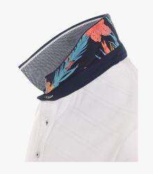 Polo-Shirt in Weiß - CASAMODA