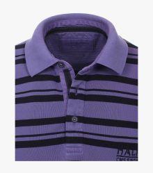 Polo-Shirt in Lila - CASAMODA