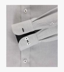 Businesshemd in Schwarz Comfort Fit - CASAMODA