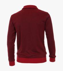Sweatshirt in Mittelrot - CASAMODA