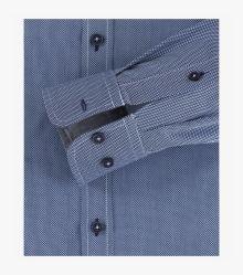 Freizeithemd in Aquadunkelblau Comfort Fit - CASAMODA