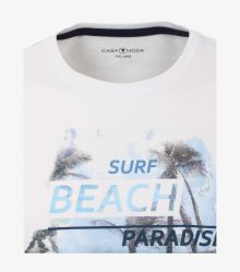 T-Shirt in Weißbeige - CASAMODA