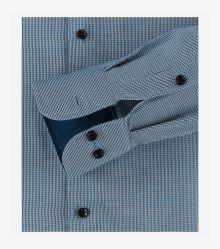 Businesshemd in Aquadunkelblau Comfort Fit - CASAMODA