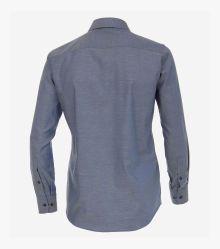 Businesshemd in graues Dunkelblau Modern Fit - CASAMODA