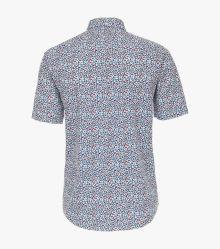 Freizeithemd Kurzarm in Blau Casual Fit - CASAMODA