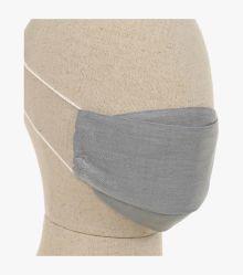 Mund-Nasen-Maske Doppelpack in Grau - CASAMODA