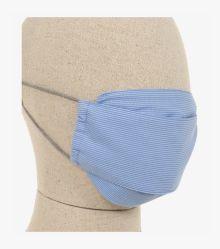 Mund-Nasen-Maske Doppelpack in Hellblau - CASAMODA