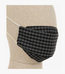 Mund-Nasen-Maske Doppelpack in Schwarz - CASAMODA