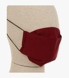 Mund-Nasen-Maske Doppelpack in Dunkelrot - CASAMODA