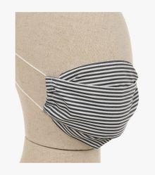Mund-Nasen-Maske Doppelpack in Grauschwarz - CASAMODA