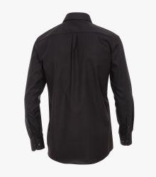 Businesshemd extra kurzer Arm 58cm in Schwarz Comfort Fit - CASAMODA