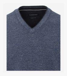 """Pullover """"Green""""-Kollektion in Mittelblau - CASAMODA"""