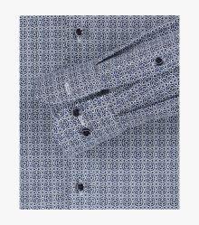 Businesshemd in Mittelblau Modern Fit - CASAMODA