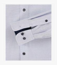 Businesshemd extra langer Arm 72cm in Mittelblau Comfort Fit - CASAMODA