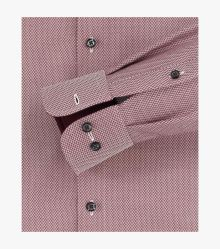 Businesshemd extra kurzer Arm 58cm in Mittelrot Comfort Fit - CASAMODA