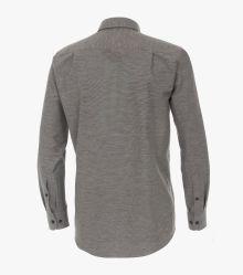Flanellhemd in Grau Comfort Fit - CASAMODA