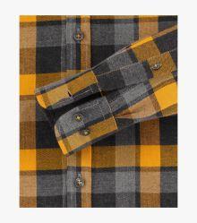 Flanellhemd in Gelb Comfort Fit - CASAMODA