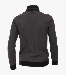 Sweatshirt in Schwarz - CASAMODA