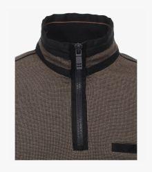 Sweatshirt in Beige - CASAMODA