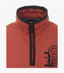 Sweatshirt in Orange - CASAMODA