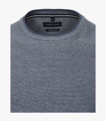 "Pullover ""Green""-Kollektion in graues Dunkelblau - CASAMODA"