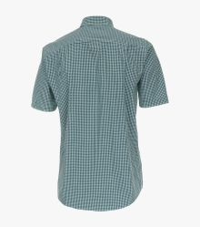 Freizeithemd Kurzarm in Grün Comfort Fit - CASAMODA