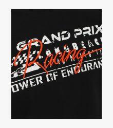 """T-Shirt """"Racing""""-Kollektion in Schwarz - CASAMODA"""