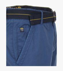 Cargo Shorts in sattes Mittelblau - CASAMODA