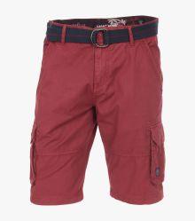 Cargo Shorts in Beere - CASAMODA
