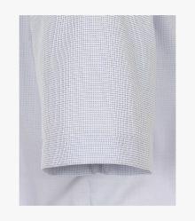 Businesshemd Kurzarm in Mittelblau Comfort Fit - CASAMODA