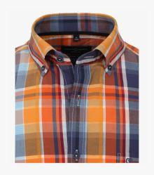 "Freizeithemd ""Green""-Kollektion in Orange Casual Fit - CASAMODA"