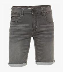 Jogg-Denim Shorts in Grau - CASAMODA