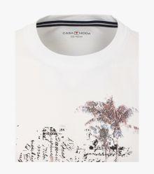 T-Shirt in Schneeweiß - CASAMODA