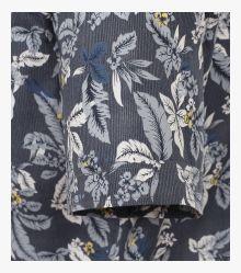 Freizeithemd Kurzarm in Dunkelblau Comfort Fit - CASAMODA