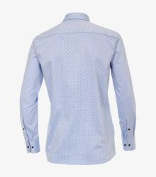 Businesshemd in helles Mittelblau Modern Fit - CASAMODA