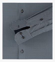 Businesshemd extra langer Arm 72cm in Dunkelblau Modern Fit - CASAMODA