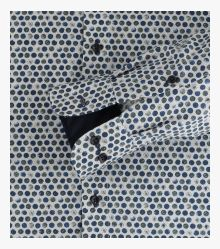 Businesshemd in Olive Comfort Fit - CASAMODA