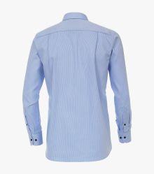 Businesshemd extra langer Arm 72cm in Azurblau Comfort Fit - CASAMODA