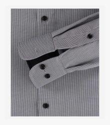 Businesshemd extra langer Arm 72cm in Dunkelgrau Comfort Fit - CASAMODA
