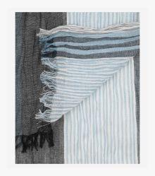 Schal in graues Dunkelblau - CASAMODA